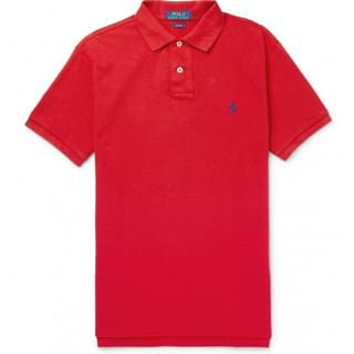 Polo Ralph Lauren Classic Fit Red Small Polo Shirt