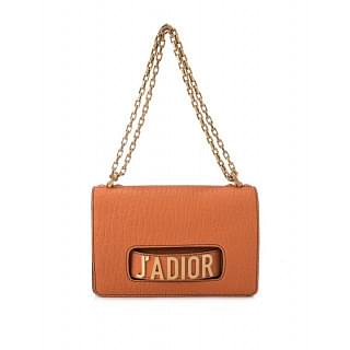 Dior Jadior Leather Chain Flap Bag