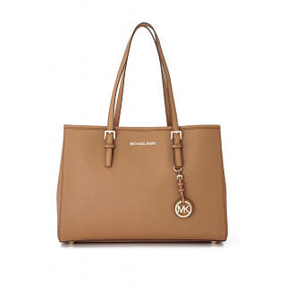 Michael Kors Jet Set East West Large Leather Tote