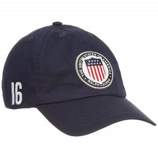 POLO RALPH LAUREN Navy Blue 'USA' Olympics Cap