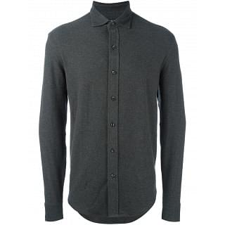 Polo Ralph Lauren Grey Full Sleeve Shirt