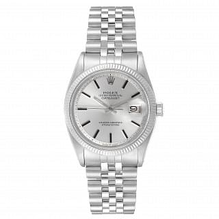Rolex Datejust Steel & White Gold Fluted Bezel 36MM
