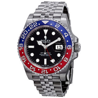 Rolex GMT-Master II Red & Blue Bezel Pepsi Watch