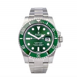 Rolex Submariner Hulk Steel