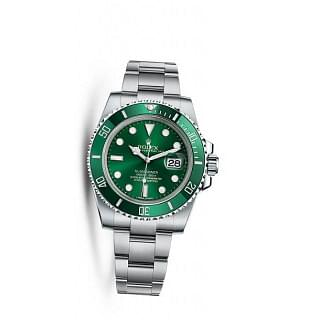 "Rolex Submariner Green ""HULK"""