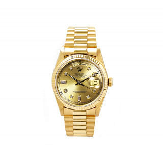 Rolex Gold Oyster Perpetual Day Date Gold