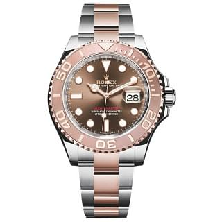 Rolex Yacht-master Steel & Everose Gold Chocolate Dial 116621