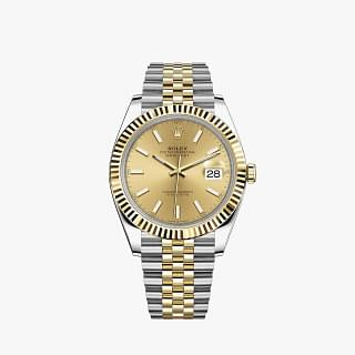 Rolex Datejust 41MM Oystersteel And Gold
