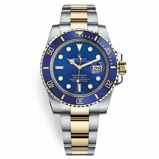 Rolex Submariner 116613LB Blue Dial Stainless Steel And 18k  Gold Watch