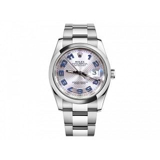 Rolex Datejust 36MM Deco Dial Stainless Steel