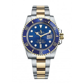 Rolex Submariner Date 40 Blue Dial Gold And Steel