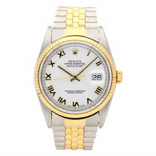 Rolex Datejust 36MM Stainless Steel And Gold