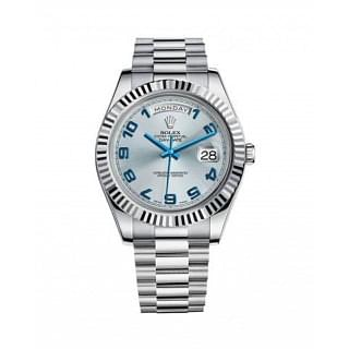 Rolex President Day-Date II Ice Blue 41MM White Gold