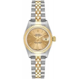 Rolex Lady Datejust 26 Champagne Steel Gold