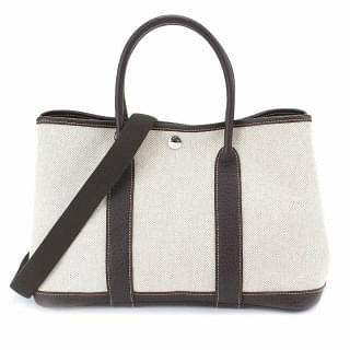 Hermes Garden Party Cotton Canvas Bag
