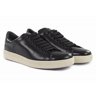 Tom Ford Russel Black Low-Top Sneakers