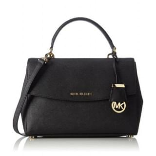 Michael Kors Ava Medium Saffiano Leather Satchel