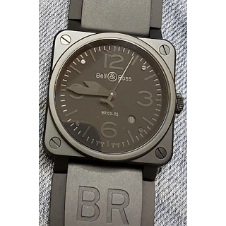 BELL AND ROSS Aviation Black Dial