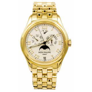 PATEK PHILIPPE Annual Calendar 18ct Yellow Gold Watch