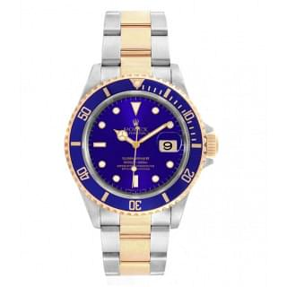 Rolex Submariner Date 18K Yellow Gold and Stainless Steel