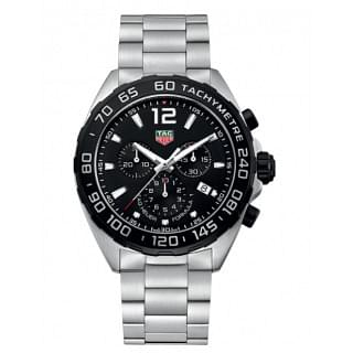 Tag Heuer Formula 1 Round Analog Black Dial Mens Watch