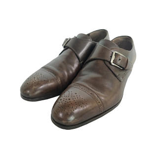Salvatore Ferragamo Single Monk Strap Shoe