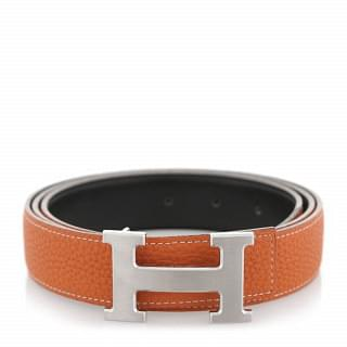 Hermes Reversible H Buckle 38 MM Men's Belt