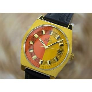 Omega Seamaster Automatic Men's Gold Plated Vintage Watch