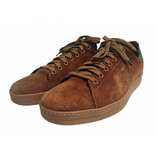 Tom Ford Warwick Contrast Suede Sneakers