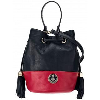 Tommy Hilfiger x Gigi Hadid Drawstring Bucket Cross Body