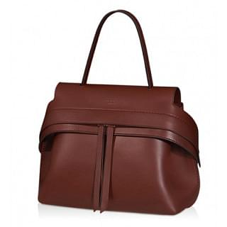 Tods Wave Leather Tote Bag