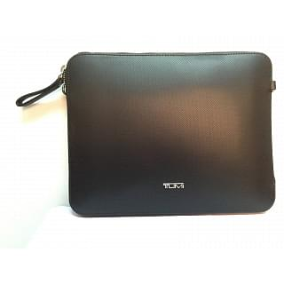 TUMI Prism Slim Zip Top Black Crossbody