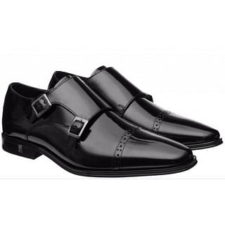 Versace Collection Double Monk Strap Shoe