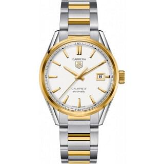 TAG Heuer Carrera Calibre 5 Steel & Yellow Gold Automatic Watch