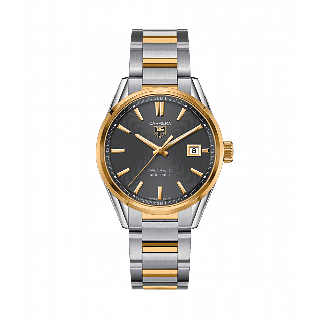 TAG Heuer Carrera Calibre 5 WAR215C.BD0783 Steel Yellow Gold Men's Watch (TAV Del)