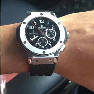 HUBLOT Big Bang Steel Automatic Men's Watch