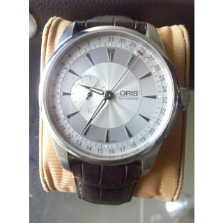 Oris Artelier Automatic Small Second Pointer Date Stainless Steel Mens Watch