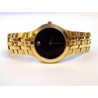 Movado Ladies Gold Plated Watch
