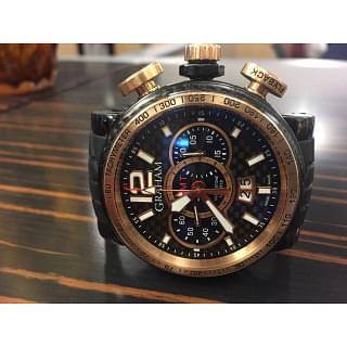 GRAHAM SILVERSTONE LUFFIELD GMT GOLD (Limited Edition)