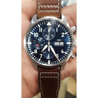 IWC Pilots Le Petit Prince Steel Automatic Blue Dial Men Watch