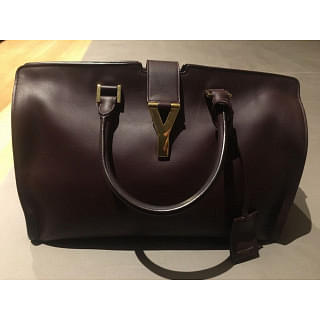 Saint Laurent ChYc Yves Large Cabas Eastwest Top Handle