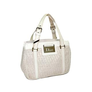 Dior New Diorissimo Monogram Canvas & Leather Tote