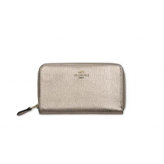 Coach Saddle 53981 Zip Around Wallet