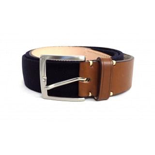 Carolina Herrera Dark Blue Handmade Belt