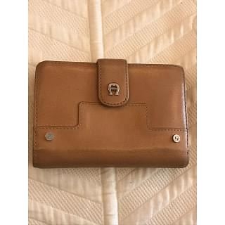 Aigner Brown Leather Women's Wallet