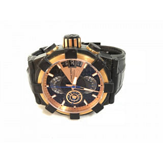Concord Pink Gold And Pvd-coated Titanium Chronograph