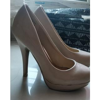 Steve Madden Girl Getta Nude Stiletto Heel Pumps