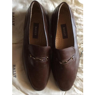 Bally Brown Leather Loafer