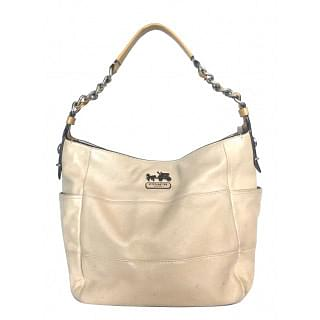 Coach Madison Tribeca with Chain Strap Leather Bag