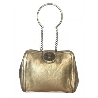 Versus Versace Metallic Evening Purse